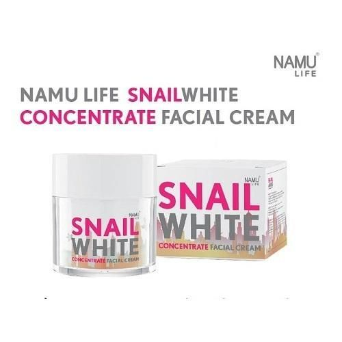 Snail White Concentrate Serum Facial Cream : 50ml.