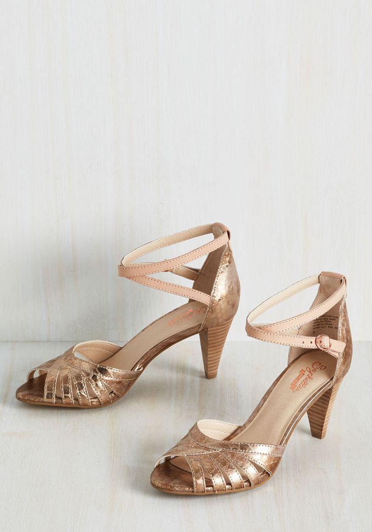Scenic Heel in Rose Gold