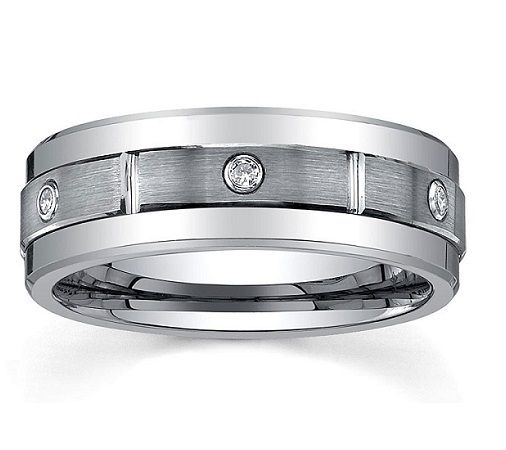 Men's Polished Spinner Tungsten Ring, $120.00 (http://www.june26.ca/mens-polished-spinner-tungsten-ring/)