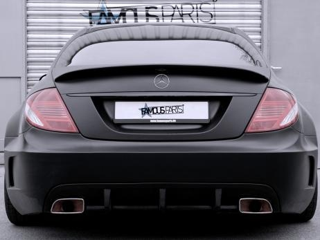 Mercedes-Benz CL 500 Black Matte Edition by Famous Parts  #mbhess #mbcars #mbtuning #FamousParts