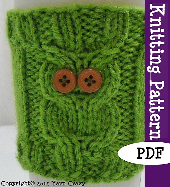 Needle - Cabled owl cozy.  BUT, with this tutorial, it shouldn't be too hard to figure out the same technique on the looms. http://isela.typepad.com/files/learn-to-loom-knit-cables.pdf