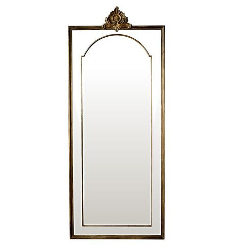 Fleur Mirror- Back In Stock #mirror #furniture #homedecor #interiordecorating #custommade #french