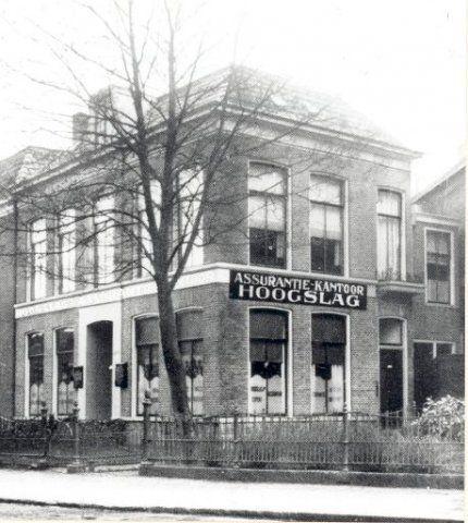 Zuidergrachtswal, ca. 1925. Bron: Historisch Centrum Leeuwarden - Beeldbank Leeuwarden