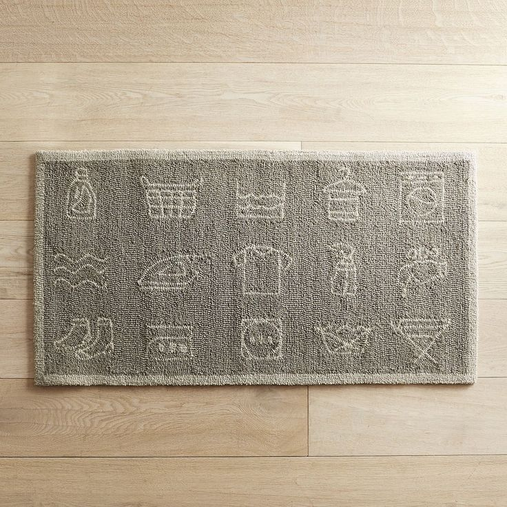 Laundry Rug Mat Home Decor
