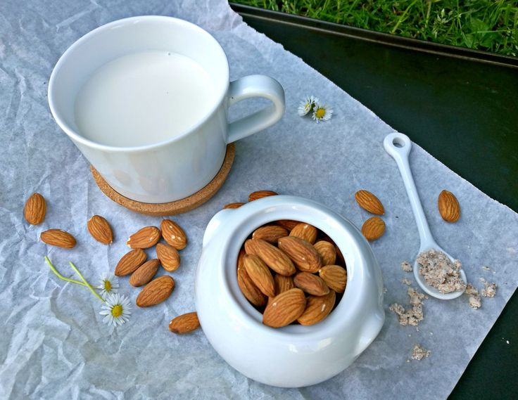 If you want to drink the benefits of almond milk without drinking the added ingredients. Try making it yourself at home! It's actually very easy and much cheaper as well!
