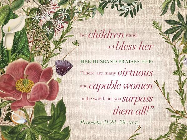 Proverbs 31:28 | www.imgkid.com - The Image Kid Has It!