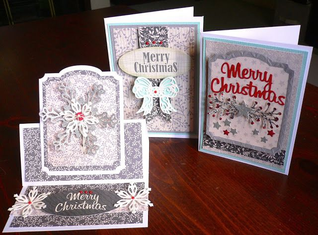 Artdeco Creations Brands: Be Merry & Classic Christmas Cards