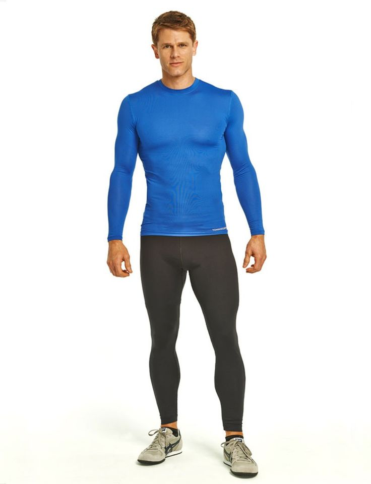 "men's workout tights Typically shorter for target specific compression and comfort, men's workout leggings are the go-to style under gym shorts for basketball and general training. Look for the adidas ""TECHFIT"" waist to ensure your basketball tights have ultra-soft seams to reduce chafing and deliver a comfortable ergonomic fit."