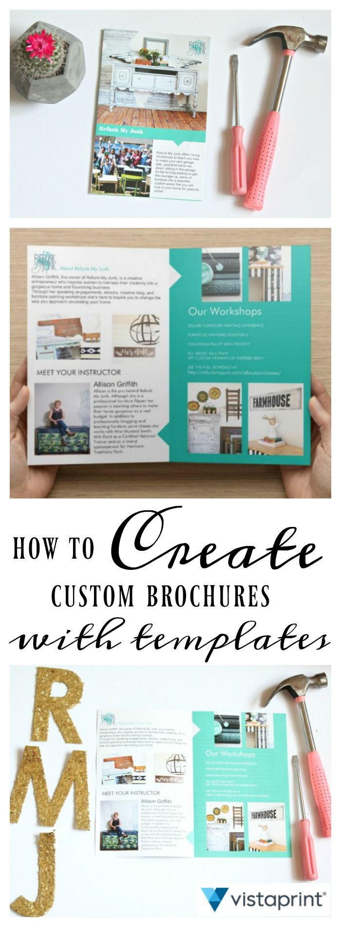 Tips on Using Brochure Templates for Marketing Materials I am obsessed with marketing.  Some might even say I am a marketing snob.  I see a font on a billboard and I automatically know it's Papyrus (the mom jeans of all fonts in my opinion). When a postcard from a local business is mailed to my home I switch into my business lady pants and admire it's layout,