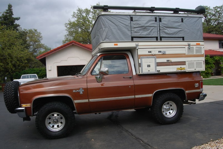 Chevrolet Blazer Four Wheel Camper In Chevrolet Ebay Motors Chevy Blazer Pinterest