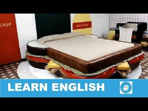 Learn English Vocabulary - Furniture 3 - Talking Flashcards - E ANGOL