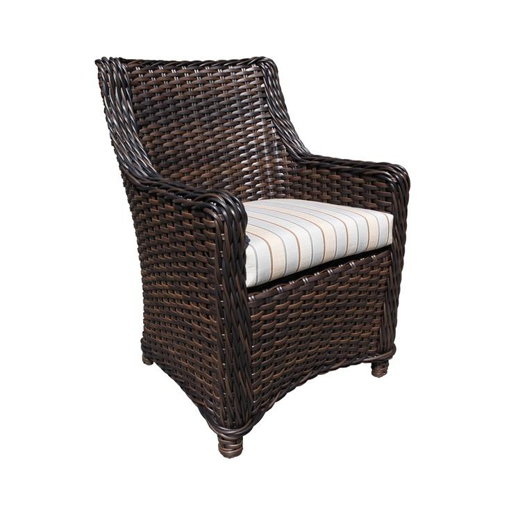 Outdoor Wicker Garden Furniture - Nevada Dining Chair