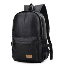 2017 Европейский и Американский стиль Твердые высокое качество кожа мужчины рюкзак сумки на ремне, mochila де couro Дорожная сумка женщины рюкзак(China (Mainland))