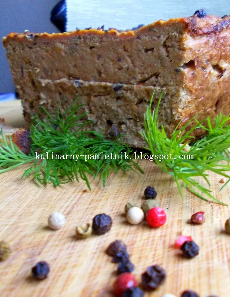 Kulinarny Pamiętnik Pani M.: Pasztet drobiowy