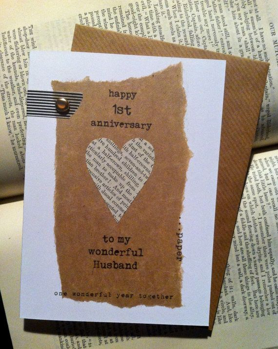17 Best Images About First Wedding Anniversary Paper On