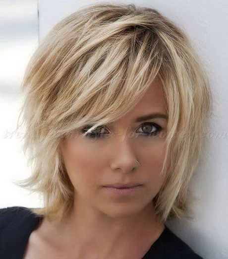 Short layered bobs 2016