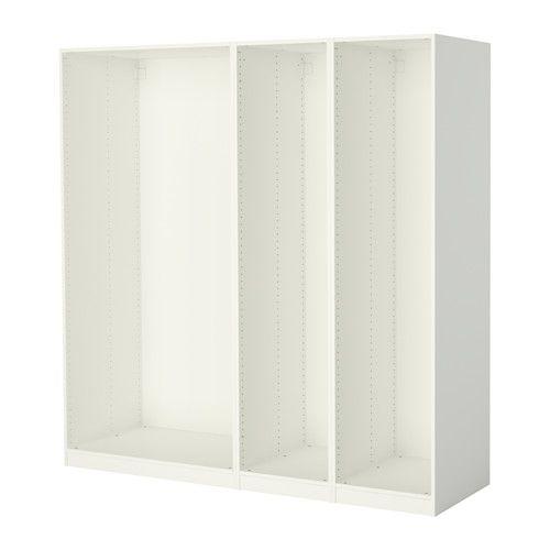 Pax 3 Wardrobe Frames White Furniture Pinterest Ikea Bedroom