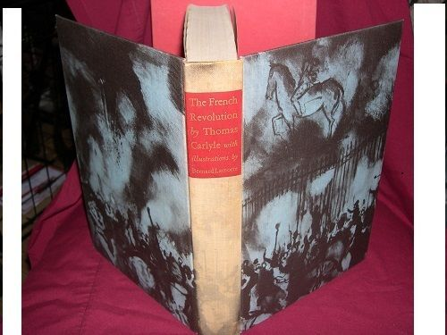 The French Revolution-A History:Thomas Carlyle(1956 Heritage Press HC/Slipcase)