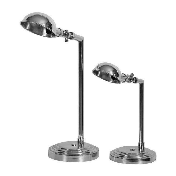 Lampa o klasycznym kształcie lamp biurkowych jednak poprzez materiał z którego jest wykonany nadaje pomieszczeniom wyrazistości.   Więcej na www.lawendowykredens.pl