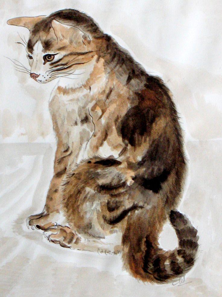 Copie d'un chat de FOUJITA