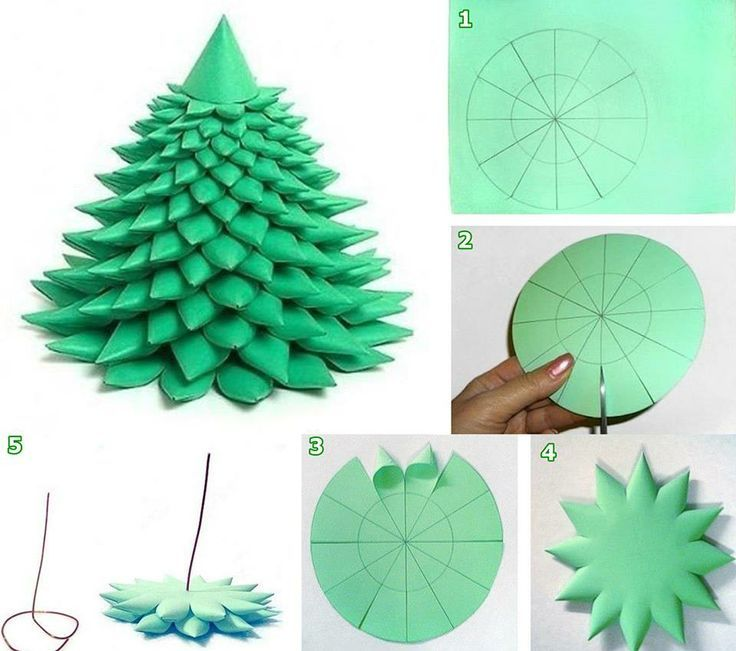 Make out of felt and glue little bobbles and glittery for Christmas tree decorations you can make at home
