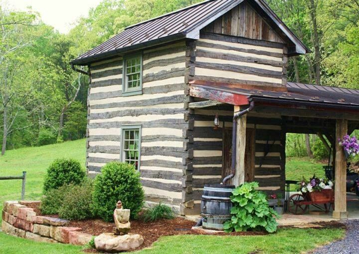 896 best images about log cabins on pinterest cabin for Mother in law cottage log cabin