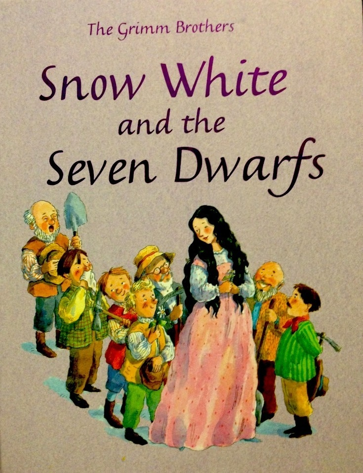 Book Cover Of Snow White ~ Snow white and the seven dwarfs book cover in