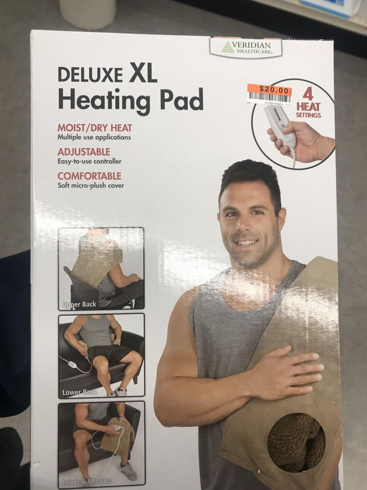Mikey Tenerelli from the Bachelorette season 9 is a model for this generic heating pad