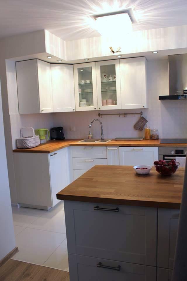 Mala Kuchnia W Bloku Czyli Jak Rozplanowac Mala Kuchnie Kuchnia Smaku Kitchen Home Decor Decor