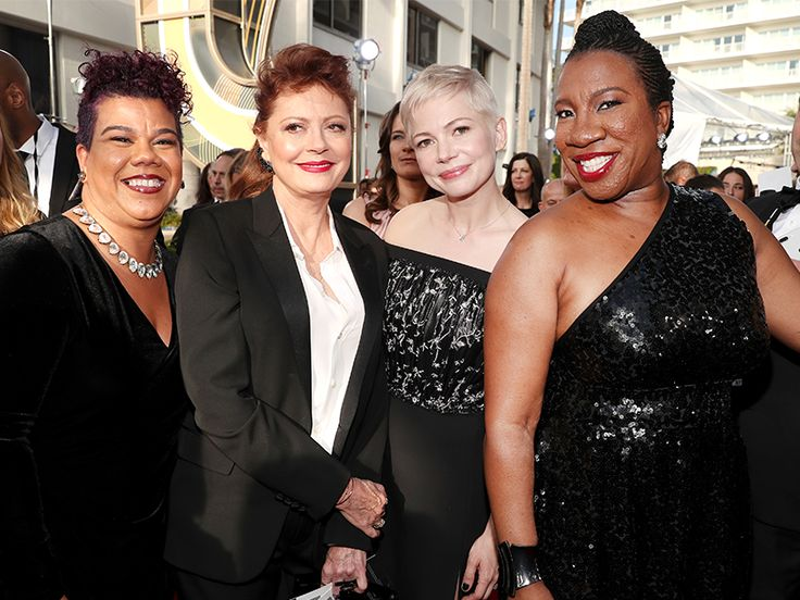 The Special Guests You'll See Alongside These Time's Up Actresses The red carpet at this years Golden Globe Awards looks much different than in previous years. Actresses across Hollywood are taking a stand against inequality and unfair treatment in the entertainment industry. By collectively wearing black dresses on the red carpet these women are using their incredible visibility and the nationwide coverage that comes with this platform to speak up about whats most important to them. Backed…