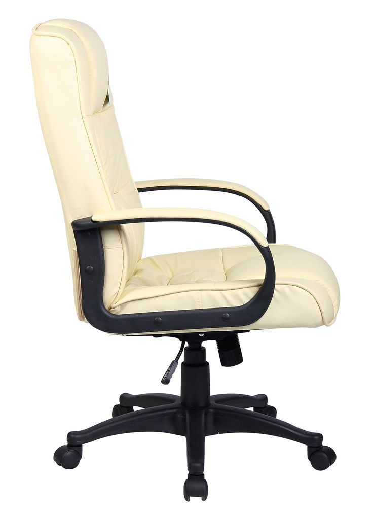 cream leather executive office chairs