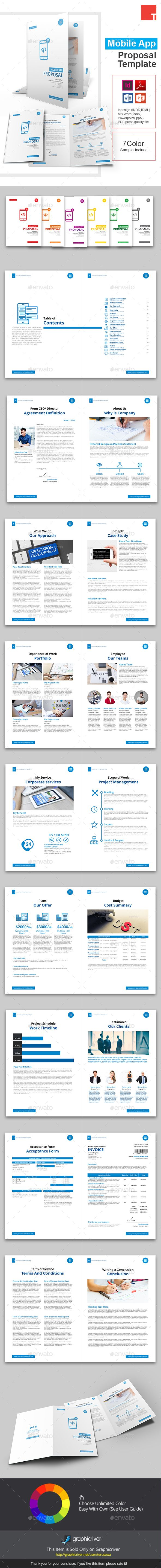 Best Invoice  Proposal Template Images On