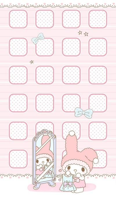 """""""Mirroring the beauty"""", as courtesy of Sanrio"""