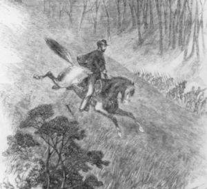 Lander ride at Battle of Philippi Races.png Daring ride on horseback of Col. Fredrick West Lander, June 30, 1861.[1] Date	June 3, 1861 Location	Barbour County, Virginia (now West Virginia) 39.15316°N 80.04278°WCoordinates: 39.15316°N 80.04278°W Result	Union victory Belligerents United States United States (Union)	Confederate States of America CSA (Confederacy) Commanders and leaders Thomas A. Morris	George A. Porterfield Strength 3,000	800 Casualties and losses 40	260