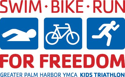 "The Greater Palm Harbor YMCA hosts the 8th Annual Kids Triathlon ""Swim, Bike, Run for Freedom"" on Sunday, September 13."