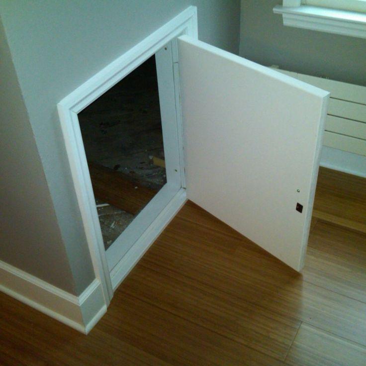 Attic Space Access Doors : Best ideas about attic access door on pinterest loft