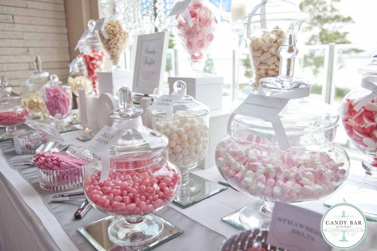 Beautiful Candy Tables At Weddings Pictures - Styles & Ideas 2018 ...