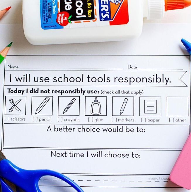 Start the year off on the right foot by introducting your classroom spaces and tools in a meaningful, hands-on way.  It contains student pages to support the introduction of 20 common school tools and classroom areas. The top half of the page has room for