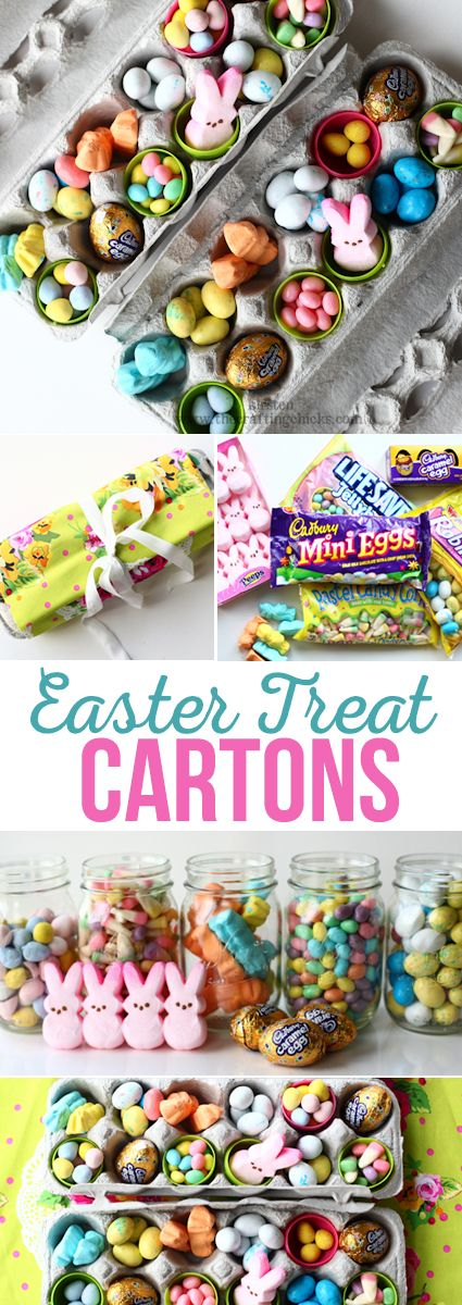 Easter Treat Cartons - A simple, yummy Easter gift idea!