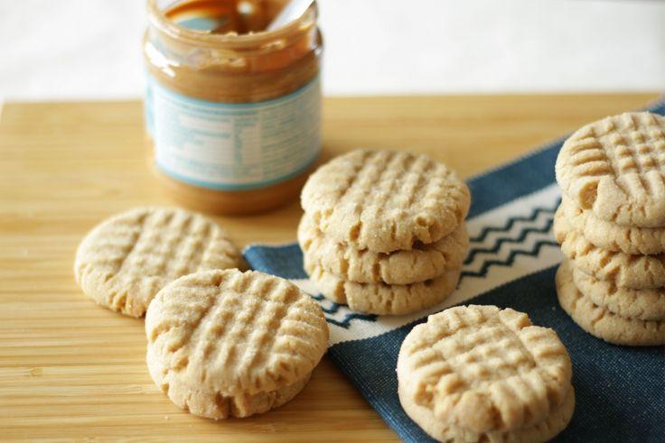 Soft Peanut Butter Cookies Rezept von Living on Cookies