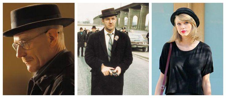 Sombreros para todos: Fedora, Pork pie y Bombín