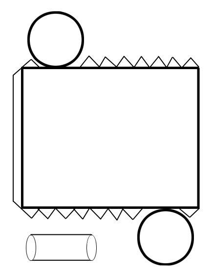 Figuras geométricas recortables 3D para niños