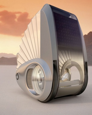 ECCO: ELECTRIC MOBILE CAMPER VAN OF THE FUTURE. If you follow the links and read what this may possibly do, it is really cool.