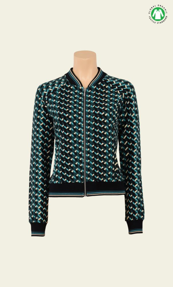 Biba Baseball Jacket in Ziggy
