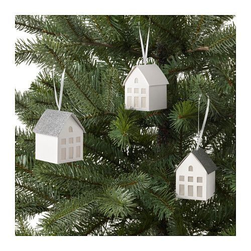 VINTER 2017 Hanging decoration IKEA Easy to hang up since it comes with ribbons already attached.