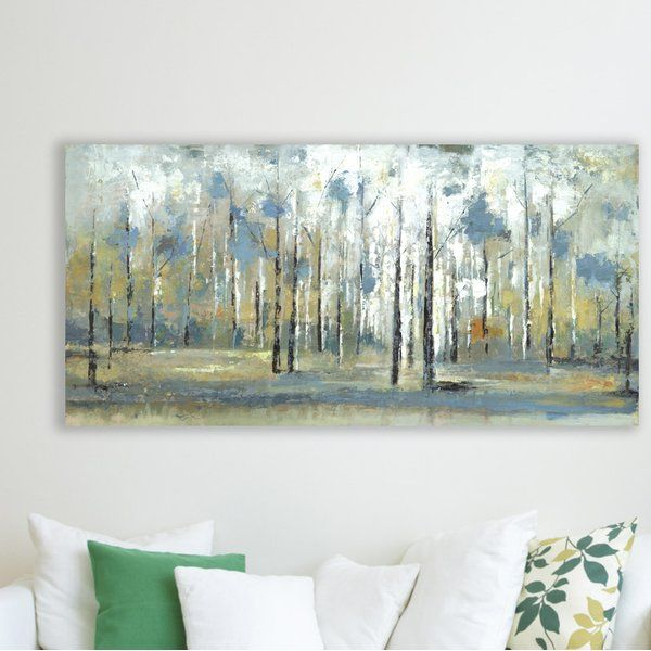 Hobbitholeco Sky Branches Acrylic Painting Print On Wrapped Canvas Reviews Wayfair Painting Prints Painting Acrylic Painting