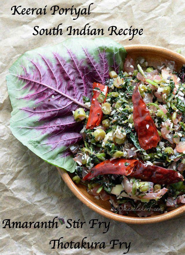 150 best alkaline foods images on pinterest alkaline foods keerai poriyal south indian recipe is a healthy quick and simple preparation of amaranth leaves forumfinder Gallery