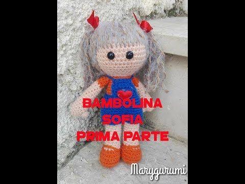 (1) BAMBOLINA SOFIA AMIGURUMI - YouTube