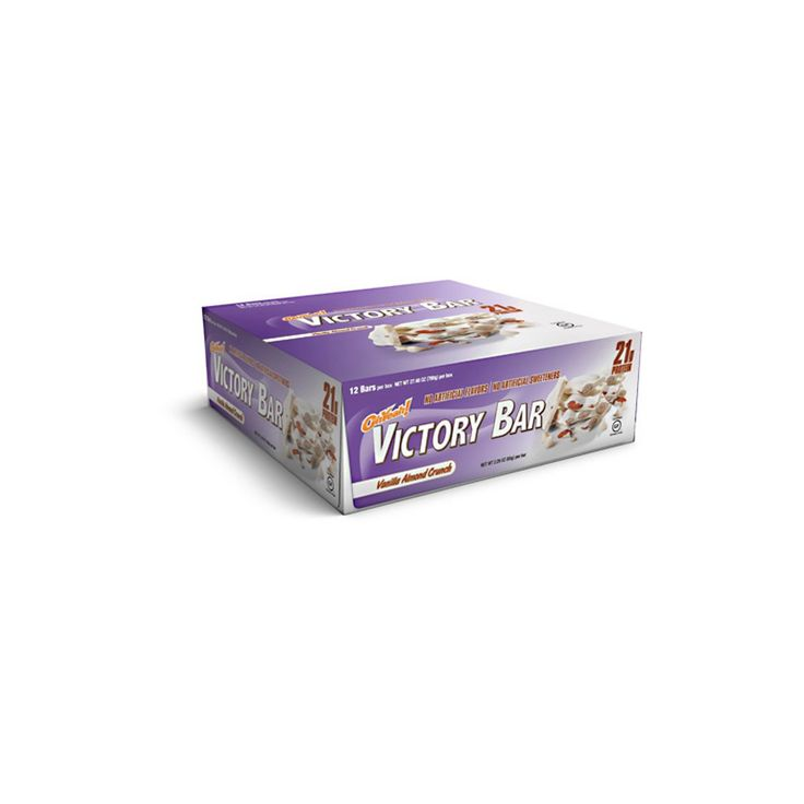 Oh Yeah Victory Bar Protein Bar - Almond Vanille Chip - 12ct