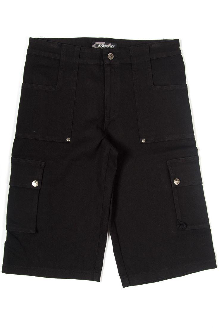 "LIP SERVICE Stretch F**k'n Twill ""Bone Snatcher"" shorts #M63-075"